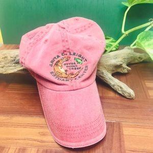 wildlife conservation otter center baseball hat
